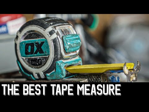 THE BEST TAPE MEASURE I'VE GOT - Tools of the Trade OX review