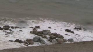 Mare in tempesta a Gioiosa Marea : i giorni della merla
