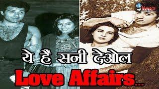 एक्शन हीरो सनी देओल के इन बॉलीवुड हसीनाओं के साथ थे लव अफेयर्स... | Sunny Deol Love Affairs