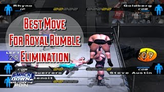 Best Move For Royal Rumble To Eliminate Your Opponent In WWE SmackDown! Here Comes The Pain (2003)