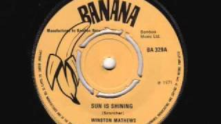 Sun Is Shining - Winston Matthews (Banana)