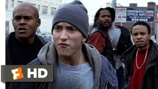 8 Mile (5/10) Movie CLIP - Cheddar Pulls a Gun (2002) HD