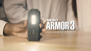 ARMOR 3 - The Indestructible Work Light & Flashlight (15 sec.)