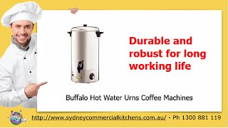 Buffalo Hot Water Urns Coffee Machines