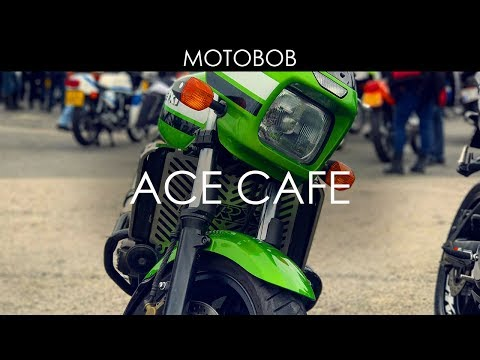70s Motorcycle Day At The Ace Cafe, London