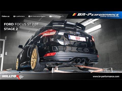 Ford Focus ST mk3 / Stage 2 By BR-Performance / MILLTEK Exhaust