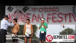 Latinos ganan el 5K Koreans Festival 2014