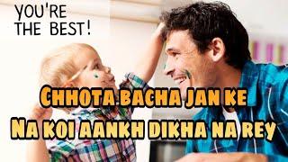 Chhota bacha jan ke na koi ll bachpan attitude status ll AG status ll new status ll