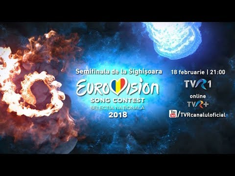 Semifinala Eurovision 2018 de la Sighişoara