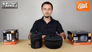 video - Nádobí ESBIT NONSTICK a dvojdílný hrnec - Military Range