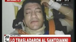 """""""Pity"""" Alvarez se cayó de la moto y fue hospitalizado"""