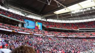 Aston Villa thats who live at Wembley