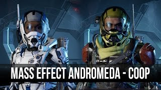 Mass Effect Andromeda Coop Play? Gameplay! (Shacks POV)