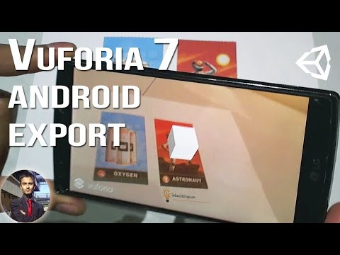 Vuforia 7 - Export Build to Android Unity 2017