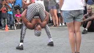 African funny dance