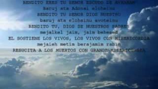 Tefilah en Alabanza Hebrea_La Amidah 18 bendiciones Aharon אַהֲרֹן