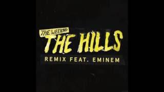 The Weeknd   The Hills Remix ft  Eminem Radio Edit CLEAN Lyrics in Description