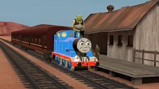 [SFM] Shrek meets Thomas (Song in Desc)