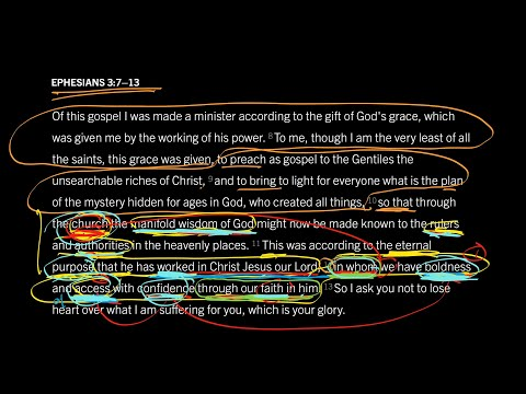 Ephesians 3:7–13 // Part 8 // Confident Access to God in Christ