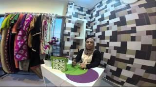 Nafnooff    لقاء مع مصممة الأزياء فاطمة الحداد في محلها