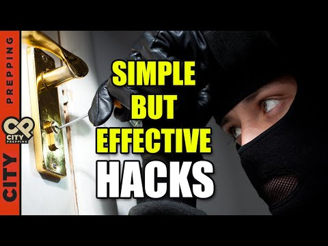 10 Easy & Inexpensive Hacks to Burglar-Proof Your Home