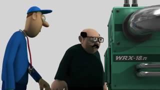 Animação Segurança no Trabalho -  Napo em Sob Pressão