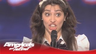 Celebrity Impressions - Melissa Villasenor - America's Got Talent Audition - Season 6 width=