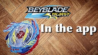 God valkryie/ genesis valtryek v3 in Beyblade Burst App!!! (Pictures)