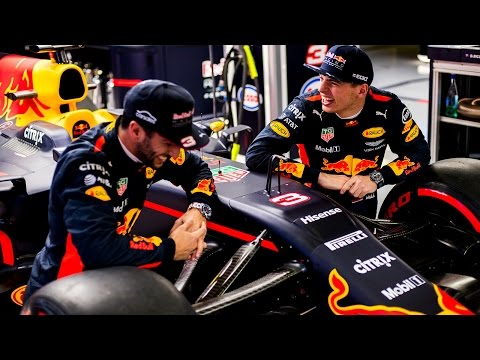 Red Bull Racing. The Cast of 2017