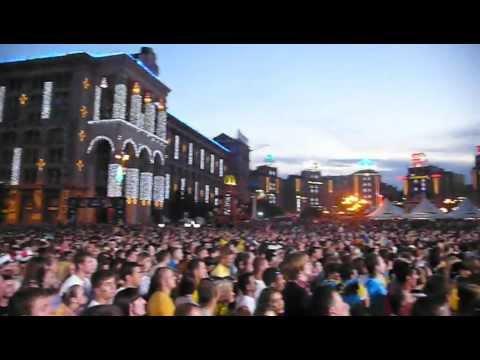 Fan-zone. Kyiv 19/06/12
