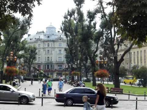 Lviv Ukraine sightseeing August 2011