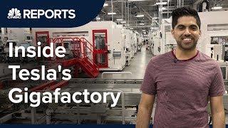 Take a tour inside Tesla's first Gigafactory | CNBC Reports