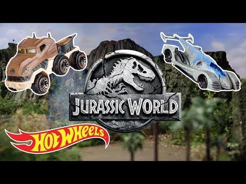 JURASSIC WORLD Character Cars   Hot Wheels®