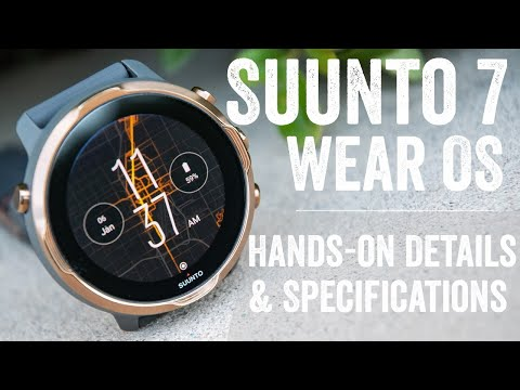 Suunto 7 with Wear OS - Hands-on details and interface walk-through