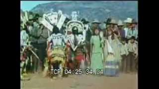 Apache Men Dance in Ritual - clip 16659