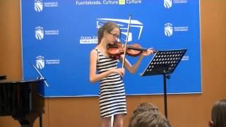 El Último Mohicano violin