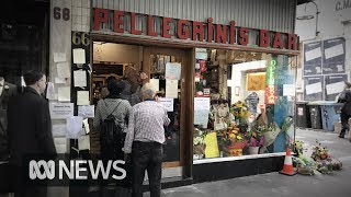 Sisto Malaspina's Pellegrini's reopens with tribute to Bourke Street attack victim | ABC News