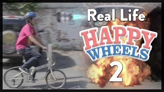 Real Life Happy Wheels 2