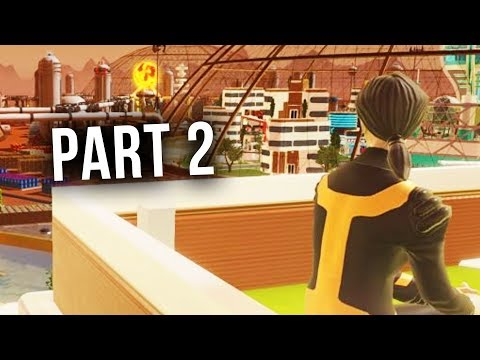 Surviving Mars Gameplay Walkthrough Part 2 - FIRST HUMANS ON MARS