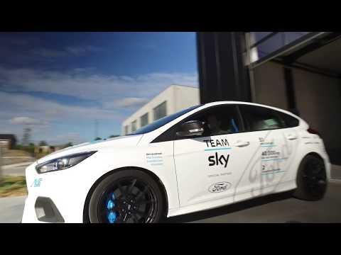 Special white Focus RS for Tour de France