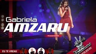 Gabriela Amzaru-Ileana(Loredana Groza)-Auditii pe nevazute Ed.7-Vocea Romaniei 2015-Sezon5