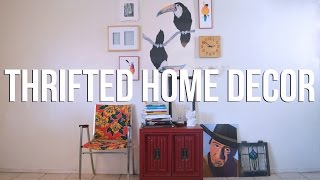 Thrifted Home Decor | The Fashion Citizen