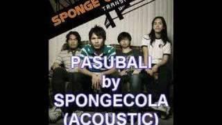 PASUBALI--(ACOUSTIC)--SPONGECOLA