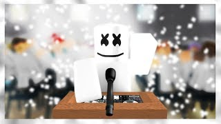 Moving On Story - Marshmello (Roblox Music Video)