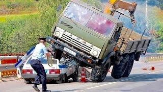 Crazy Russian Drivers Compilation JANUARY 2017 🇷🇺