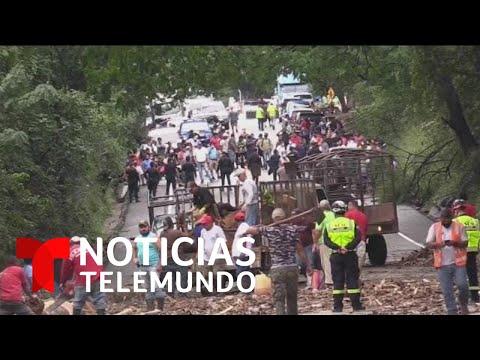 Tormenta Eta: un alud de tierra sepulta a un centenar de personas en Guatemala