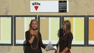 : I colori ai silicati KEIM, Intervista a Elisabetta Tonali