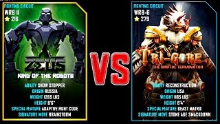 REAL STEEL WRB FINAL ZEUS VS TRI GORE (Champion)(279) New Robots UPDATE (Живая Сталь)