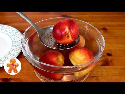 Персиковый Пирог Перевертыш ✧ Просто и Очень Вкусно