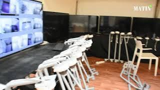 Casablanca : L'hôpital de campagne se prépare à accueillir les cas graves de Covid